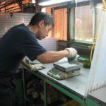 ウレタンゴム注型の前加工と後加工