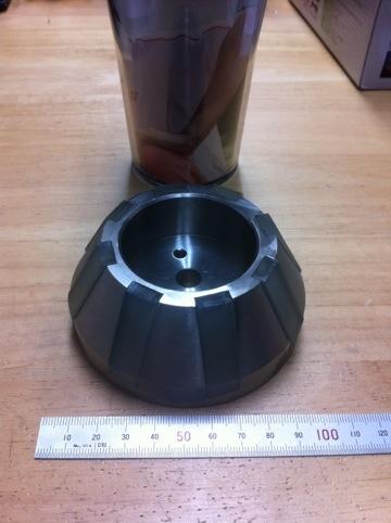 耐摩耗性ウレタンゴムローラー(ゴム型製作にて作成)