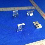 ロボットハンド・チャックの爪へのウレタンゴムライニング。