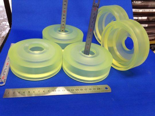 ウレタンゴム注型品のウレタンゴムパッキンの巻