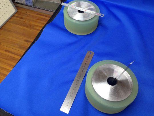 ウレタンゴムローラー90~95度 ウレタンゴム注型~ウレタンゴム研削・研磨品
