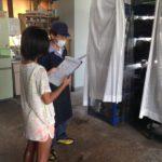 先日、当社に可愛らしい可愛らしい工場見学者様がいらっしゃいました。