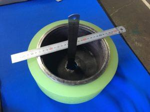 ウレタンローラー 80度巻き替え - ウレタンゴム加工