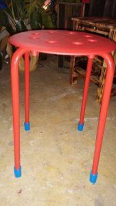 椅子の脚のウレタンキャップ完成品 - ウレタンゴム加工