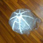 ウレタンゴムで風船を作ってみました。