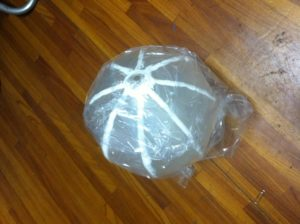ウレタンで風船を作ってみました。 - ウレタンゴム加工