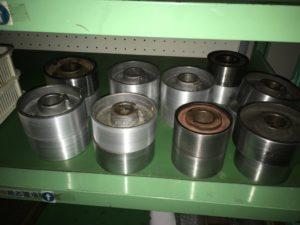 4面プレーナー加工に使用されるウレタンゴムローラーの工程について - ウレタンゴム加工