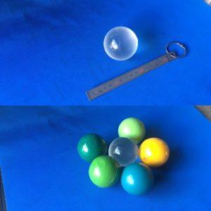 ウレタン水晶玉 - ウレタンゴム加工