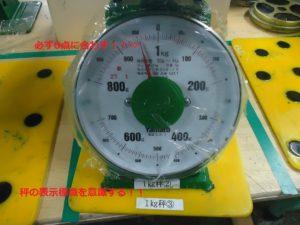 表示標識 0点計測 - ウレタンゴム加工