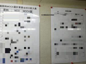原材料のNCO(イソシアネート)を一定に保つ為 - ウレタンゴム加工
