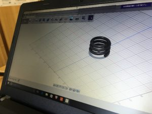 3DCADの勉強は着々と進めている立成化学工業所です。 - ウレタンゴム加工
