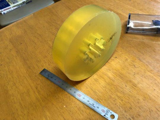 ウレタンゴム注型冶具(ゴム型)