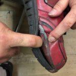 液状注型ウレタンゴムで靴を修理してみました。