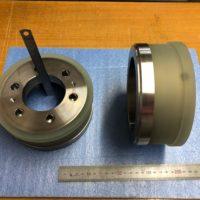 押えロール Φ163×Φ143×70L(ゴムの働き50L)